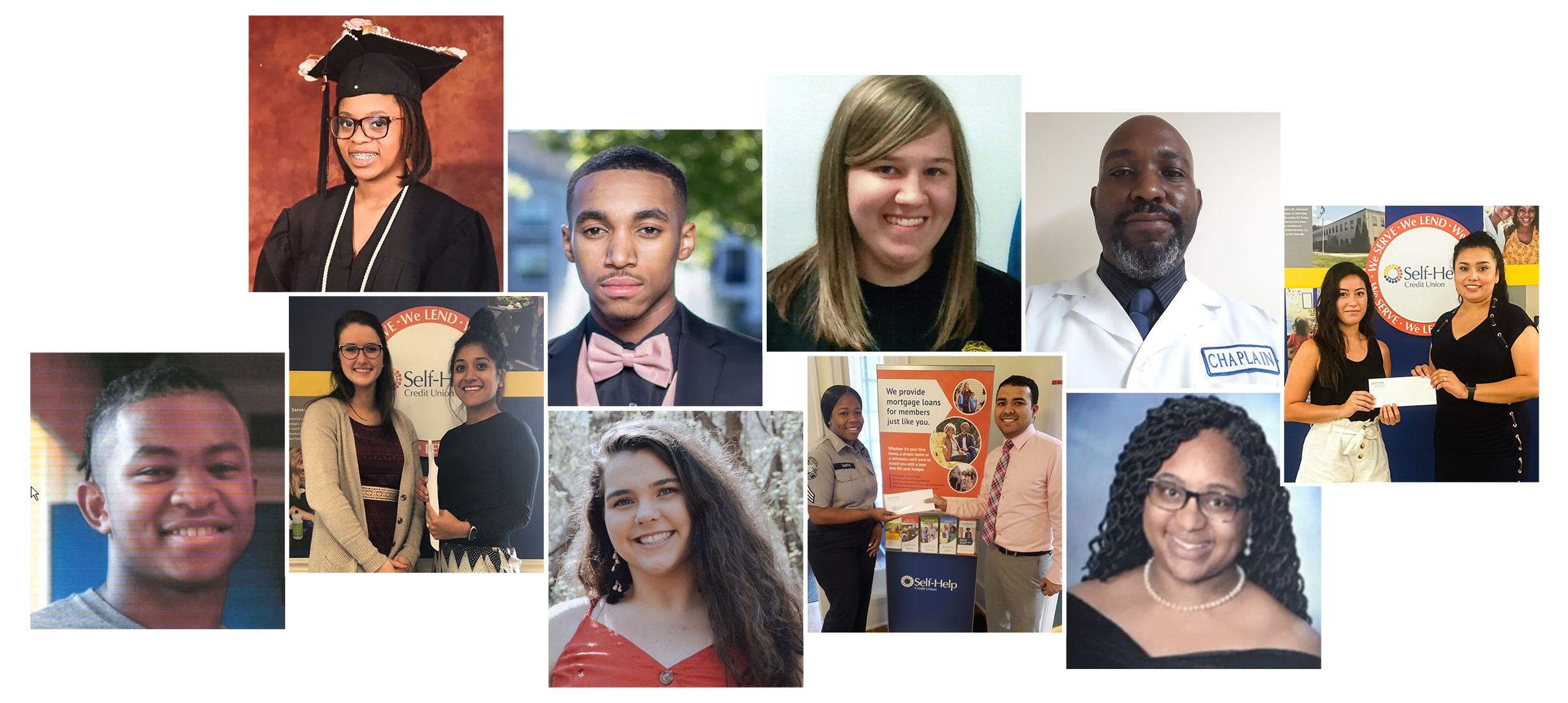 2019 scholarship winners from self-help credit union